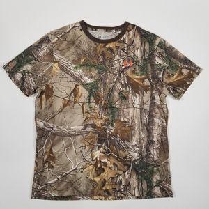 NEW Under Armour RealTree Camo HeatGear T-Shirt